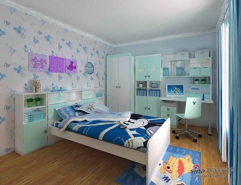 简约 一居 儿童房图片来自用户2737735823在酷漫居米奇系列儿童房69的分享