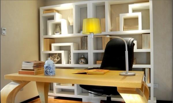 小小书房,线条分明的框架,大方简洁的样式
