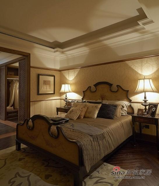 中式 复式 卧室图片来自用户1907662981在百平老上海风的尊贵复式家31的分享