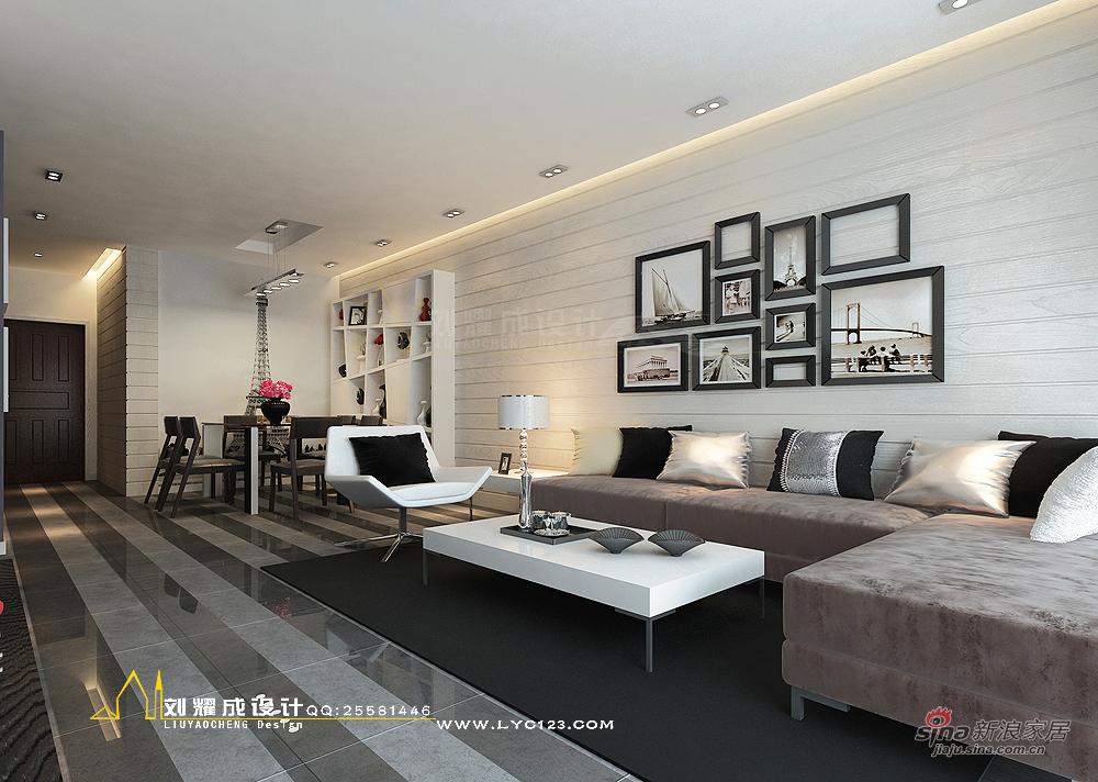 欧式 三居 客厅图片来自用户2746948411在【高清】暂别色彩的时光135平米33的分享