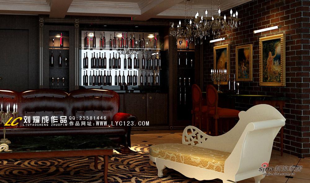 美式 别墅 客厅图片来自用户1907685403在豪华庄重别墅案例66的分享
