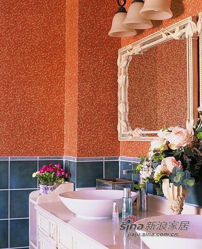 田园 别墅 卫生间图片来自用户2737946093在450平联排别墅宁静的田园风格94的分享