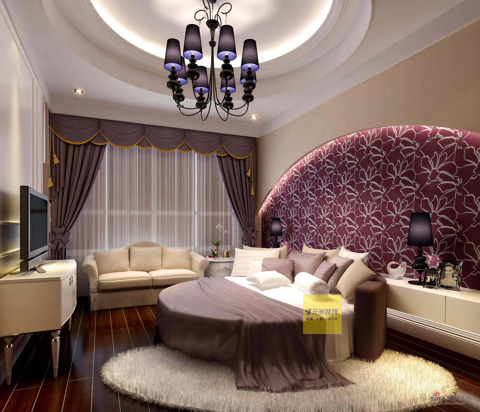 欧式 别墅 卧室图片来自用户2557013183在我的专辑275809的分享