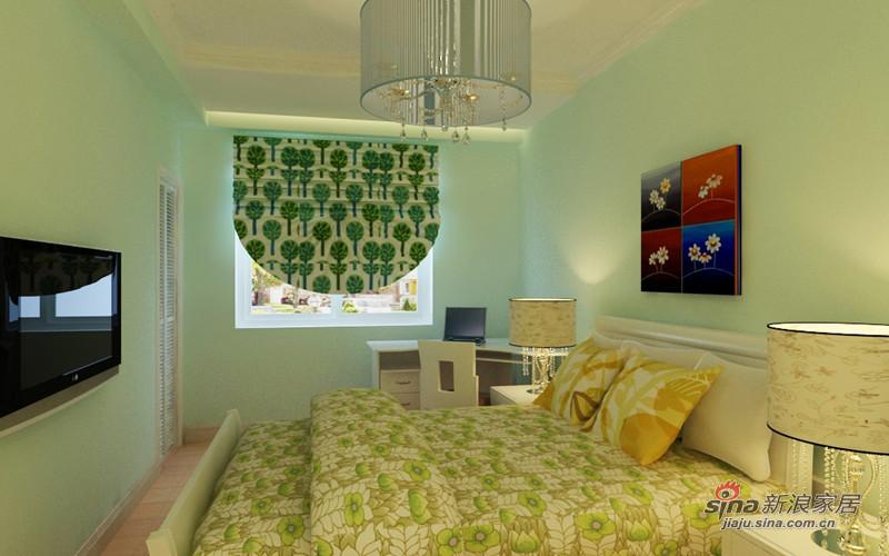 简约 二居 卧室图片来自用户2737735823在我的专辑180113的分享