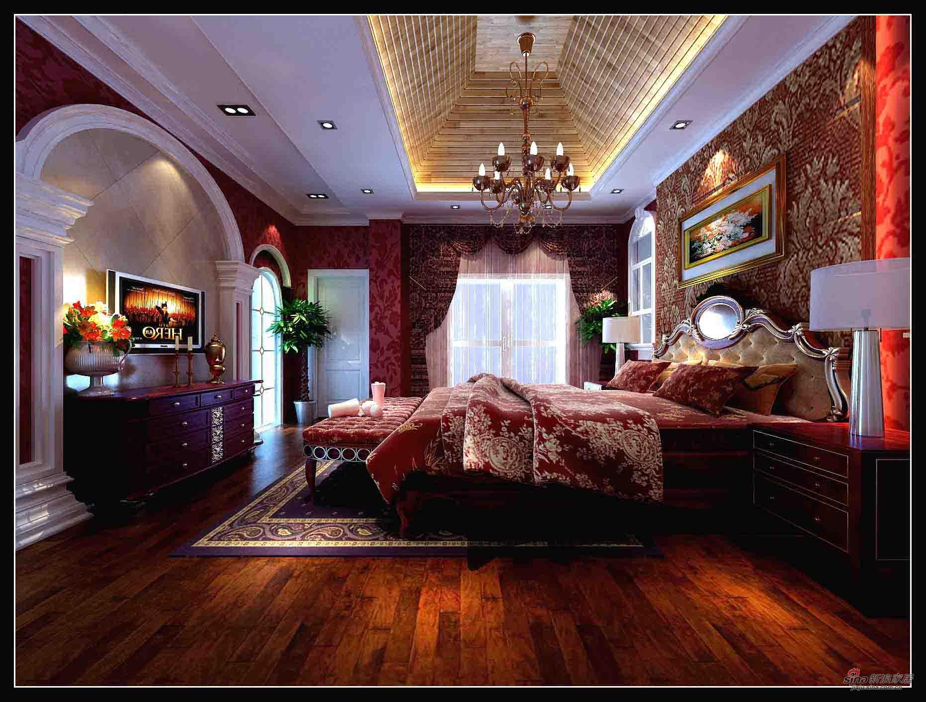 欧式 别墅 客厅图片来自用户2746889121在保利英格兰堡别墅65的分享
