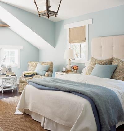 蓝色卧室室内设计