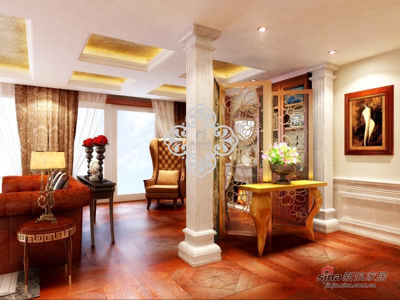 简约 别墅 玄关图片来自用户2739081033在别墅样板间_天津简约设计风格47的分享
