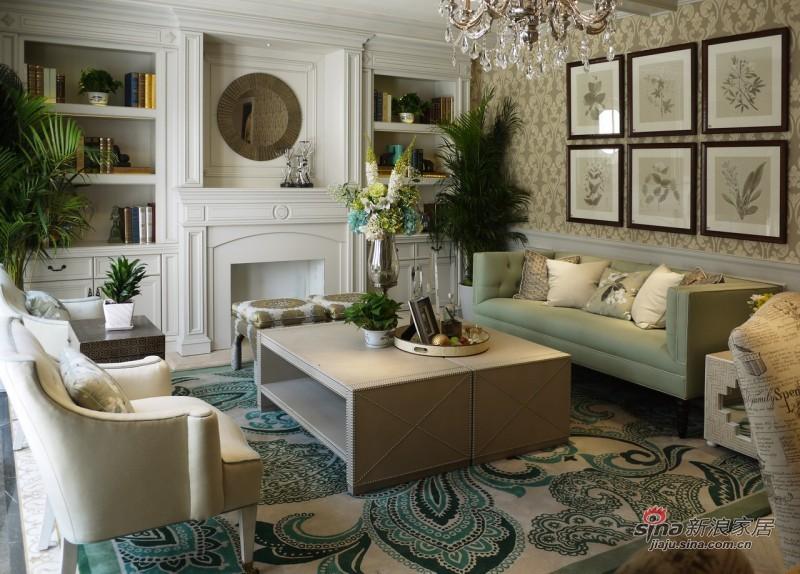 其他 复式 客厅图片来自用户2558757937在【高清】情调211平精致品味宅后现代风格84的分享