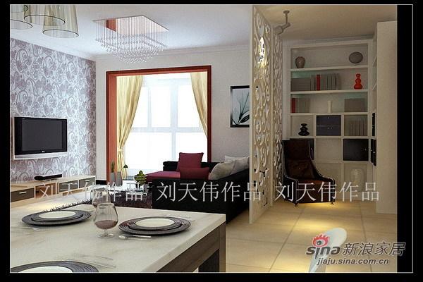 简约 二居 客厅图片来自用户2745807237在密云典雅精致爱家79的分享
