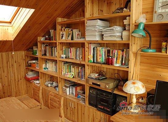 田园 复式 卧室 楼梯 文艺青年 阁楼 艺术 实用图片来自用户2737946093在超赞的日式田园小阁楼47的分享