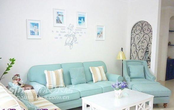 欧式 别墅 客厅图片来自用户2746889121在地中海50的分享