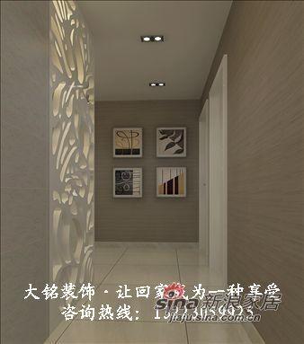 现代简约家庭装修设计-玄关