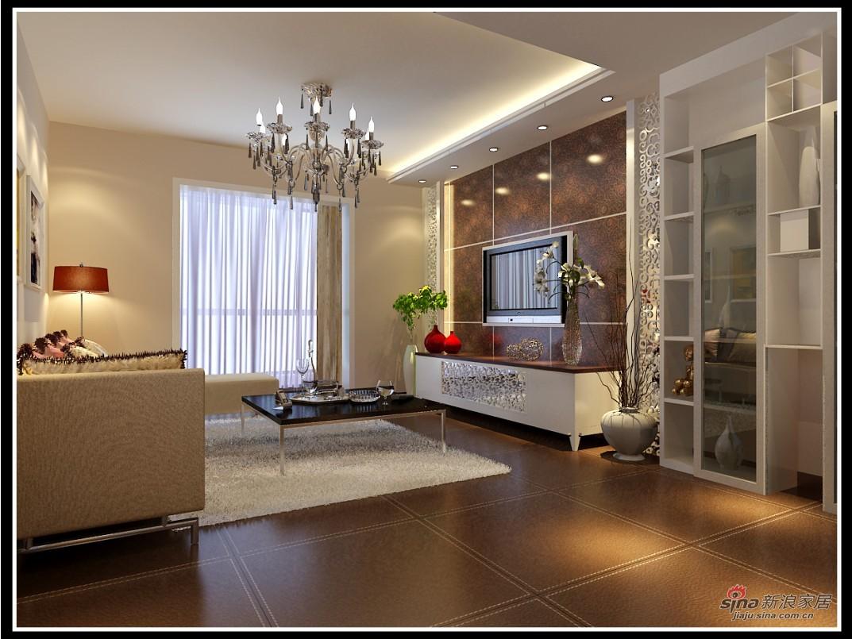欧式 复式 客厅图片来自用户2746889121在现代简约82的分享