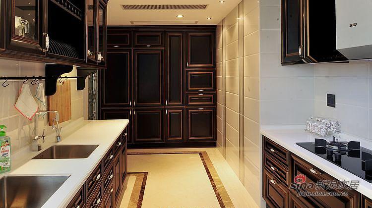 新古典 三居 厨房图片来自装修微日记在【高清】116平新古典魅惑大气3居97的分享