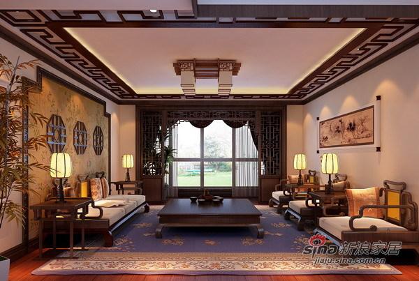 混搭 别墅 客厅图片来自用户1907691673在13万元演绎风采欧罗多姿的211㎡28的分享