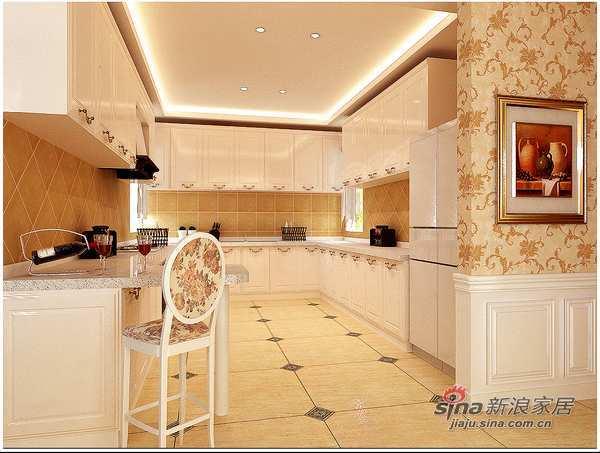 欧式 别墅 厨房图片来自城市人家犀犀在精彩的小资生活42的分享
