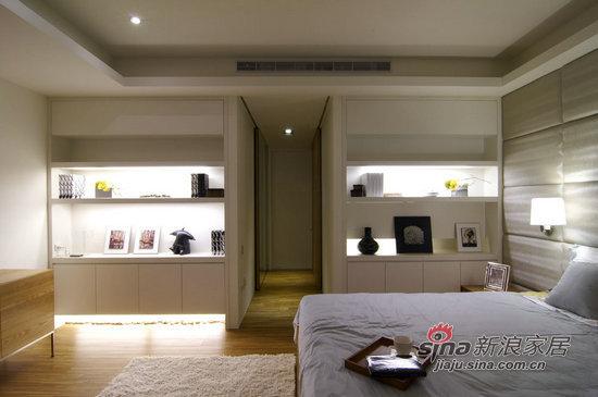 北欧 三居 卧室图片来自用户1903515612在150平贴近人心经典北欧风16的分享