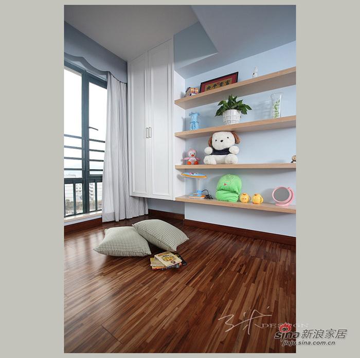 中式 三居 儿童房图片来自用户1907659705在153平现代中式清新大三居55的分享