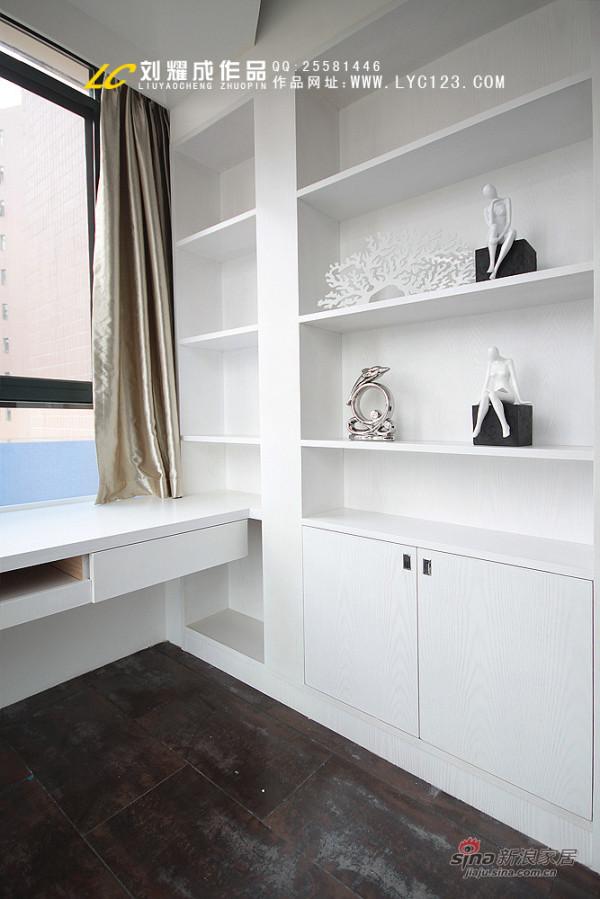 凯乐湘园136平米书房书柜设计实景