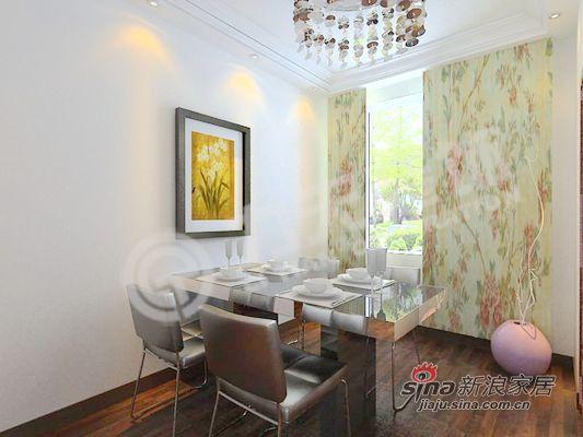 简约 三居 餐厅图片来自阳光力天装饰在时尚潮人的居所~55的分享
