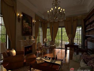 古典后奢华别墅设计21