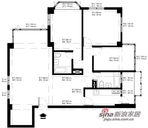田园 三居 客厅图片来自用户2737791853在5.5万装100平淡雅乡村家31的分享