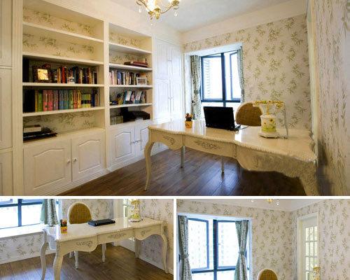 田园 二居 书房图片来自用户2737946093在温馨时尚田园130平设计实景86的分享