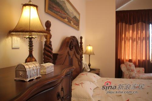 田园 跃层 卧室图片来自用户2557006183在超实拍!低调的奢华,演绎简欧+田园混搭风41的分享