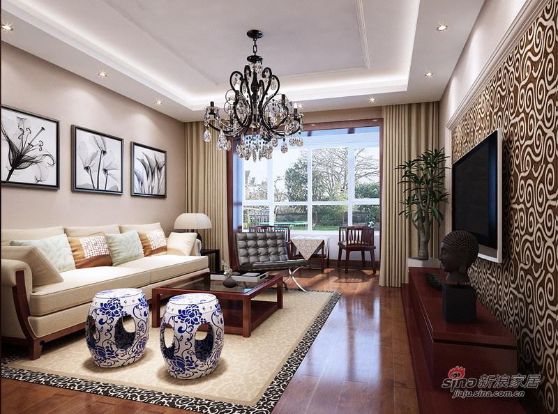 中式 三居 客厅图片来自用户1907659705在超值的11万装扮长信春天140平26的分享