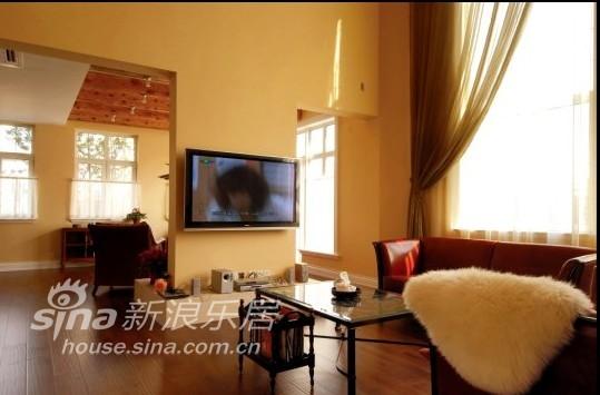 欧式 复式 客厅图片来自用户2772856065在泰晤士小镇90的分享