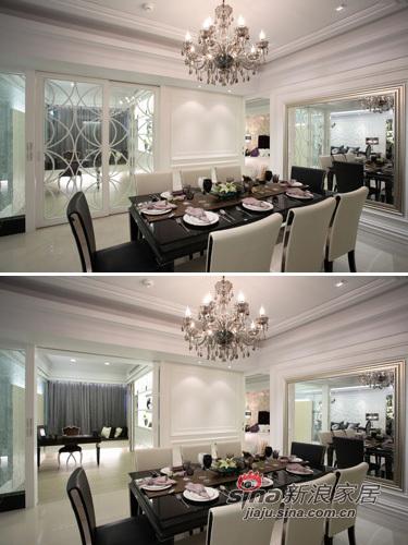 新古典 三居 厨房图片来自用户1907701233在白色奢华110平 三代同堂共享天伦39的分享