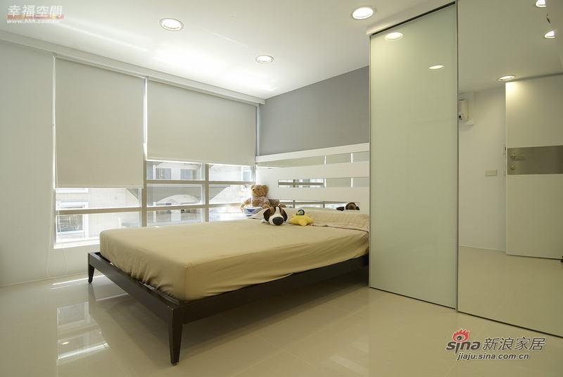 北欧 复式 卧室图片来自幸福空间在80平现代北欧风格4口之家68的分享