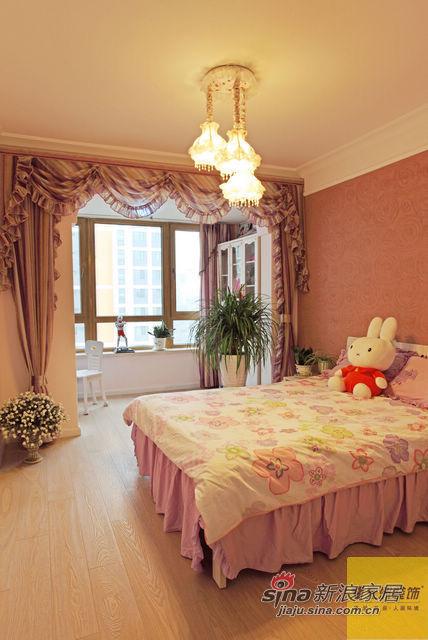 地中海 四居 卧室图片来自用户2757320995在地中海风格美家40的分享