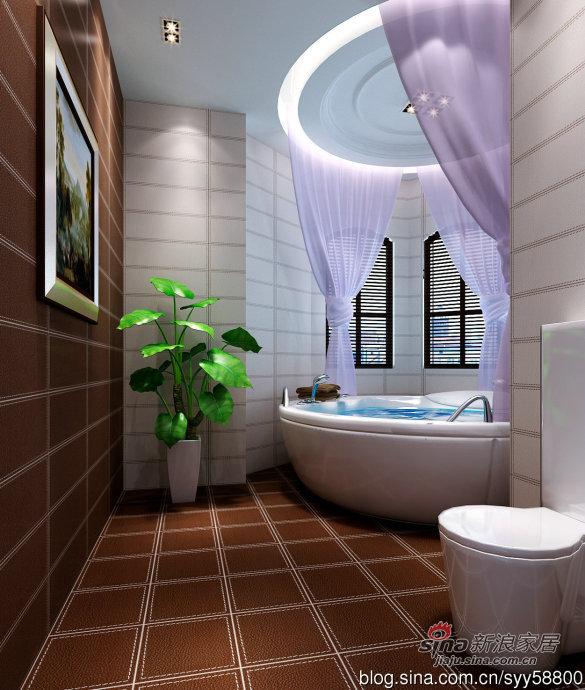 欧式 别墅 卫生间图片来自用户2772856065在我的专辑868004的分享