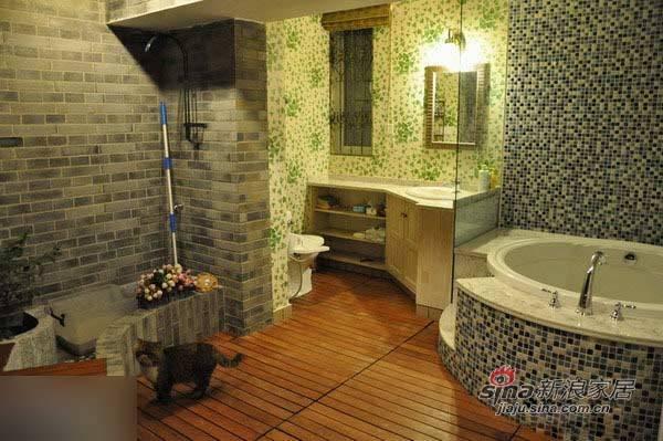 中式 三居 卫生间图片来自用户1907658205在135平东南亚与中国风奇妙混搭99的分享