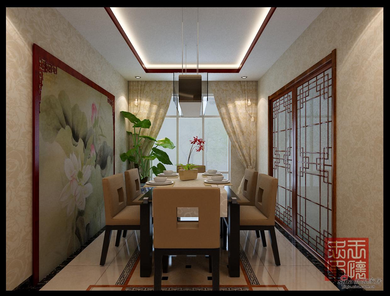 中式 四居 餐厅图片来自用户1907696363在165平中式风格16的分享