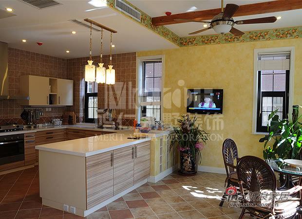 欧式 别墅 厨房图片来自用户2772873991在麦卡伦地11的分享