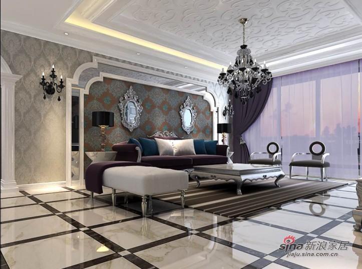 欧式 三居 客厅图片来自用户2745758987在打造大户型舒朗雅致空间21的分享