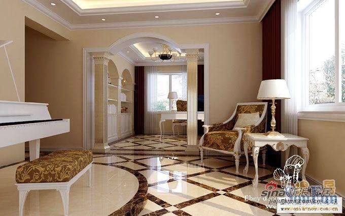 欧式 四居 客厅图片来自用户2746953981在180平米欧式美家 给您别致感受82的分享