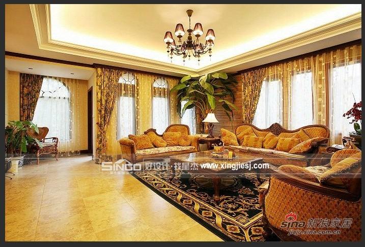 欧式 别墅 客厅图片来自用户2746948411在古典欧式61的分享