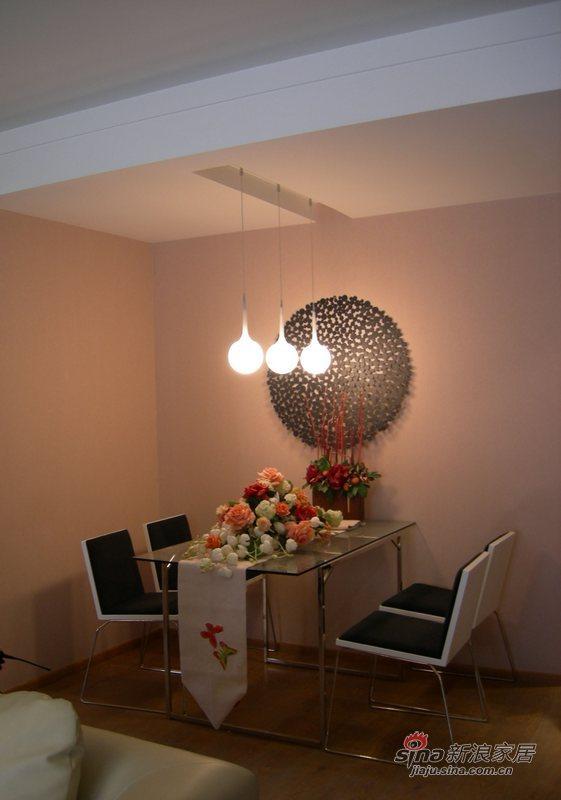 简约 二居 餐厅图片来自用户2739378857在细节连贯整体不俗两居87的分享