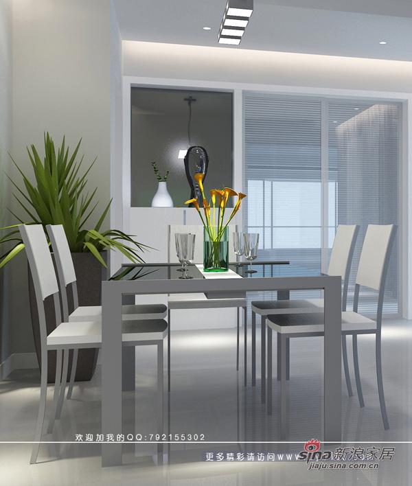 简约 三居 餐厅图片来自用户2738093703在少点、再少点----极少主义风格23的分享