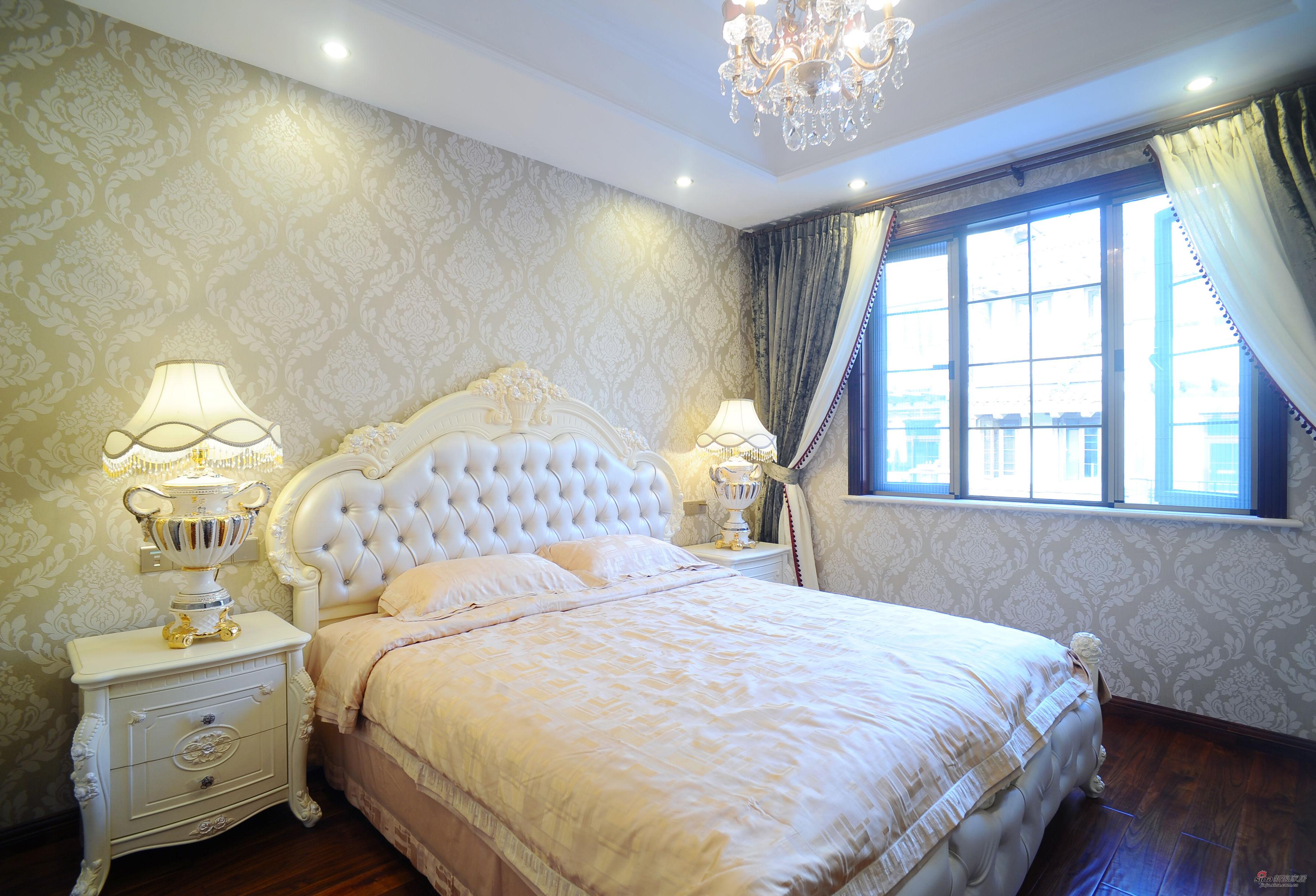 欧式 别墅 卧室图片来自用户2746889121在低调在奢华中绽放-欧式风格55的分享