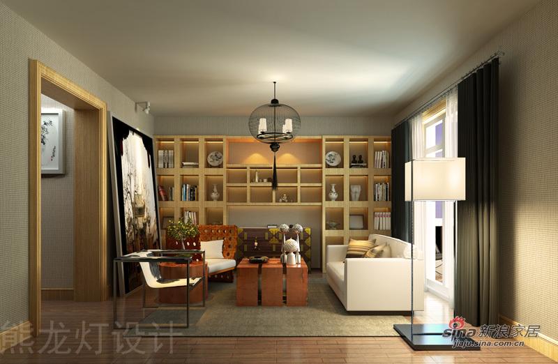 混搭 别墅 客厅图片来自用户1907691673在悠然居-熊龙灯别墅设计13的分享