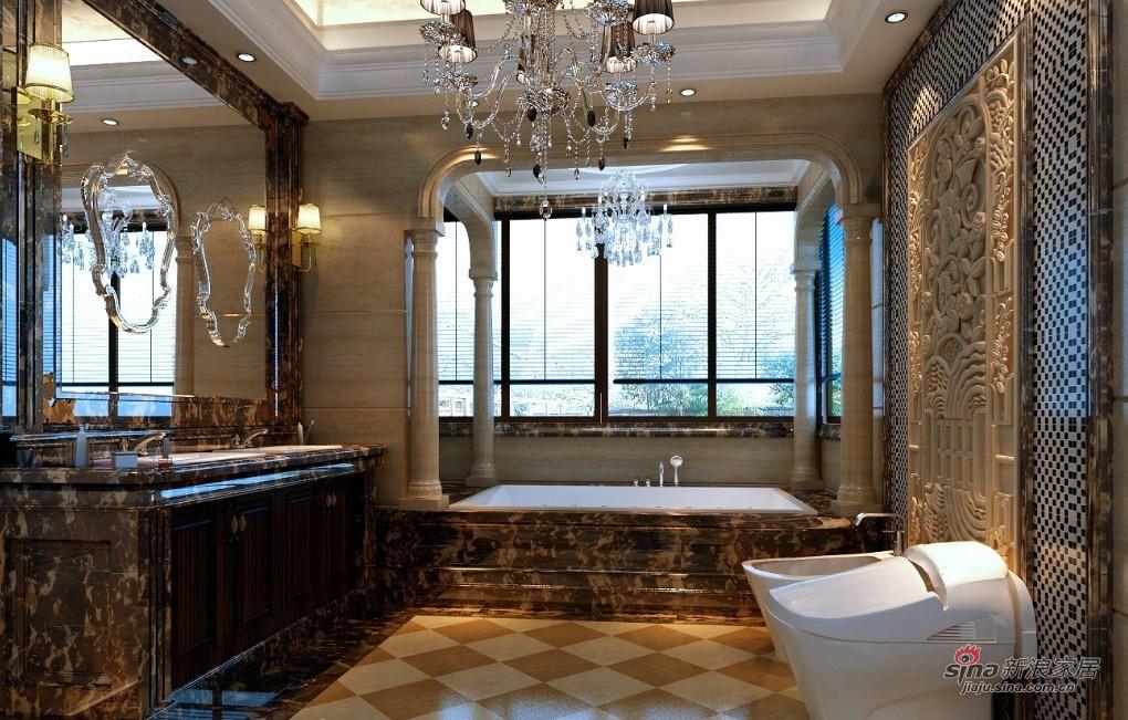 新古典 复式 餐厅图片来自用户1907701233在280平古典欧式别墅装修设计79的分享