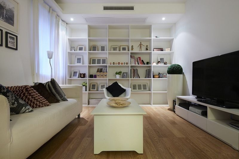 简约 二居 客厅图片来自用户2739081033在95平米田园2居室实景图装修仅需6万30的分享