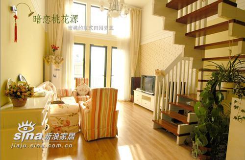 简约 复式 客厅图片来自用户2737786973在超甜美田园风情复式居室设计192的分享