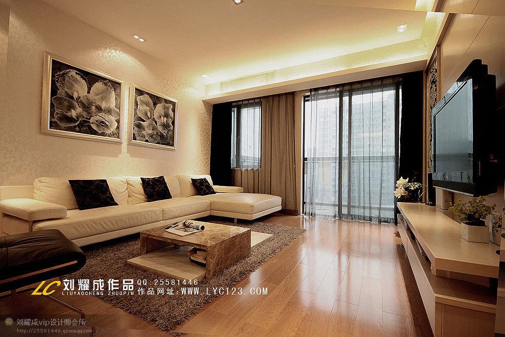 欧式 复式 客厅图片来自用户2746953981在16万妆点135平品味雅致生活41的分享