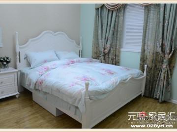 【多图】65平自然温馨田园两居室90