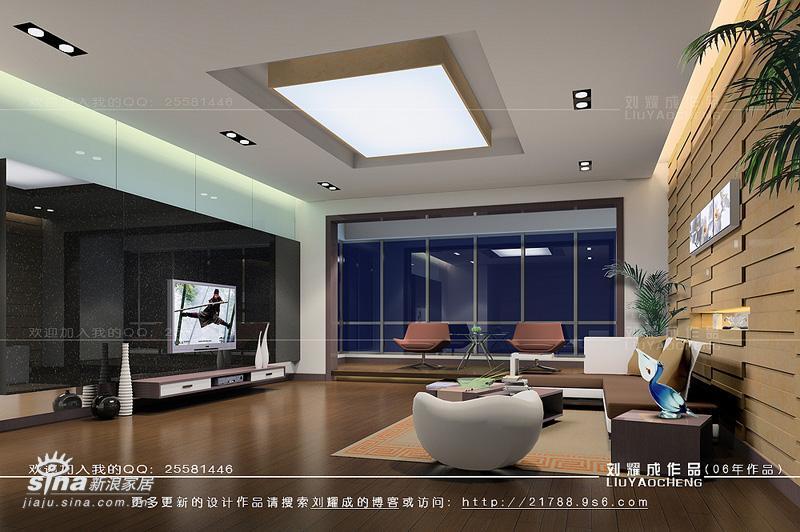 简约 一居 客厅图片来自用户2739081033在现代居室34的分享
